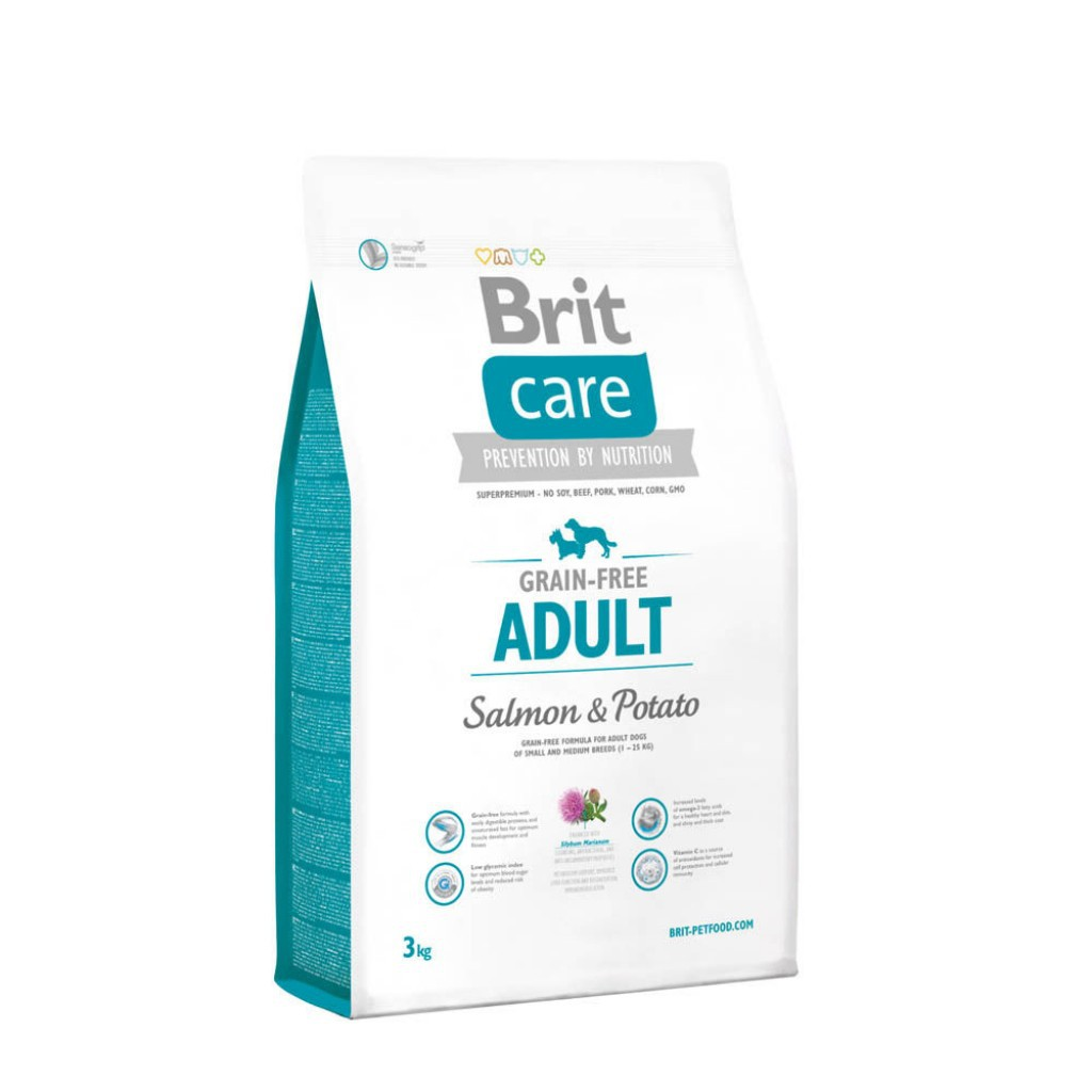 buy popular 1a03f 3ed11 Brit Care Grain-free Adult Salmon and Potato 12kg   Shopee Malaysia
