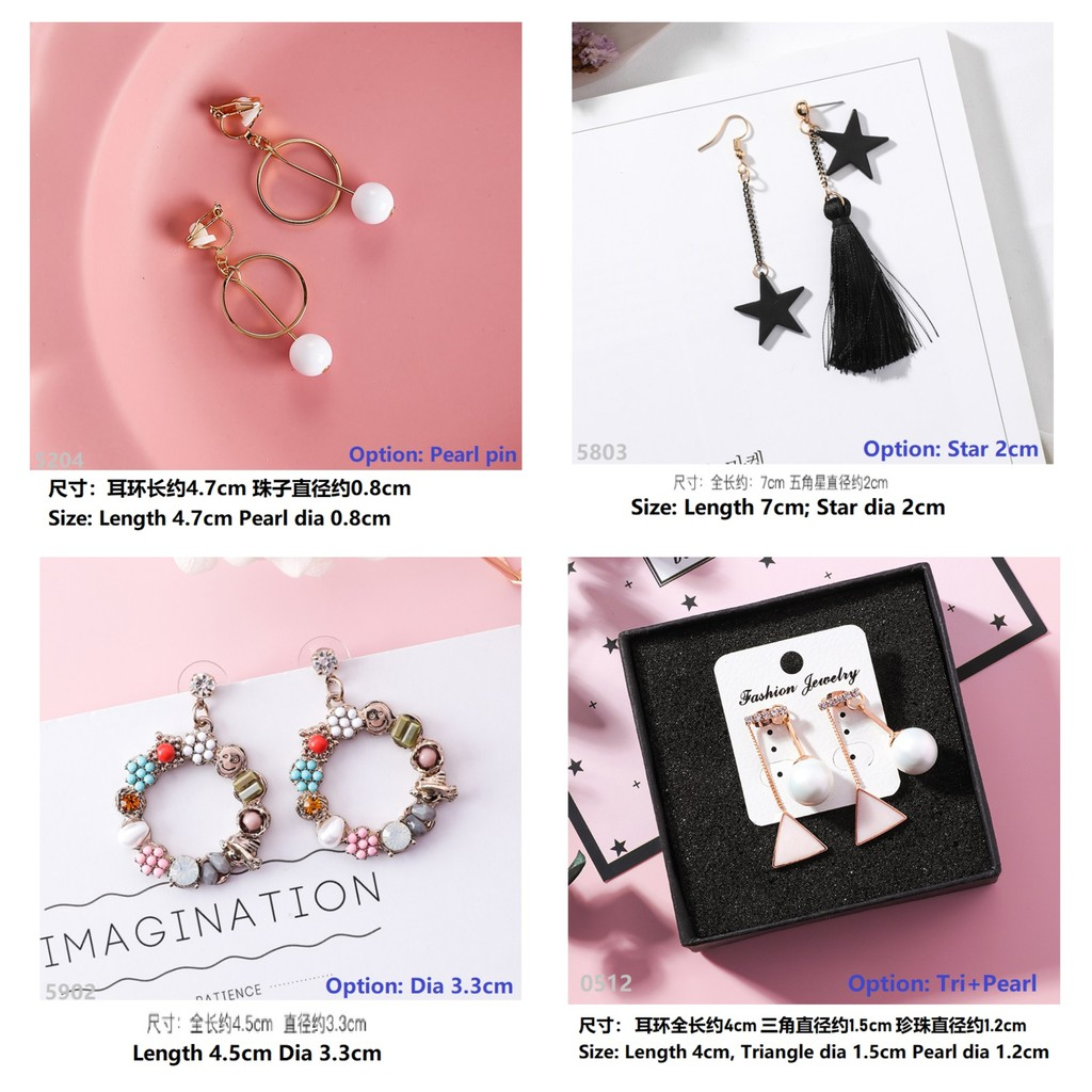 bda462623 Earrings Online Deals - Jewellery | Fashion Accessories | Shopee Malaysia