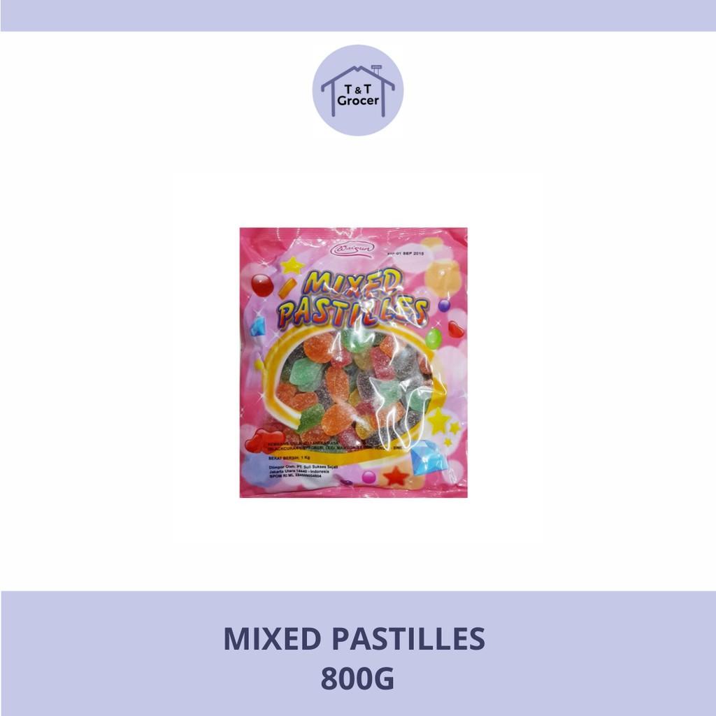 Mixed Pastilles 800g