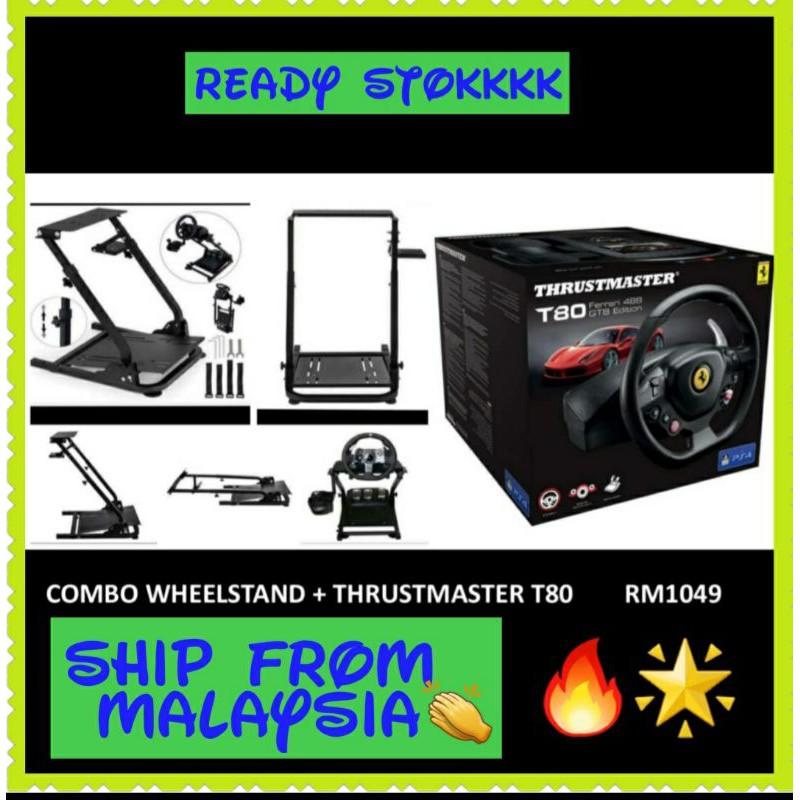 COMBO wheelstand + thrustmaster T80