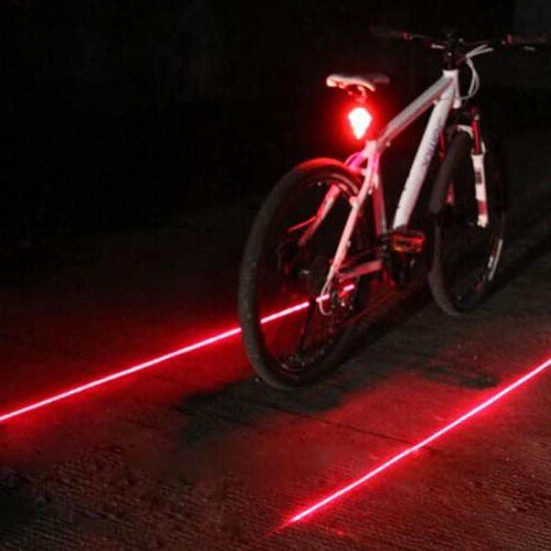 2 Red LED USB Rechargeable Bike Tail Light Bicycle Safety Cycling Warning Rear