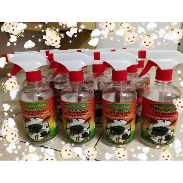 Insect repellent anti arranges organic 500ml Refill pack