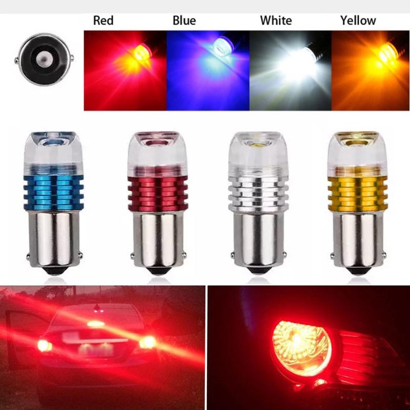 🔥🔥🔥 1156 1157 Car Motorcycle LED Turn Reversing Signal Lights Bulb Tail Brake Strobe Lamp | Shopee Malaysia