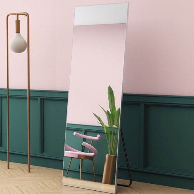 Ikea Northern Europe Simplicity Dressing Mirror With Stand Bedroom Household Mirror Couture Student Dormitory Mirror Shopee Malaysia