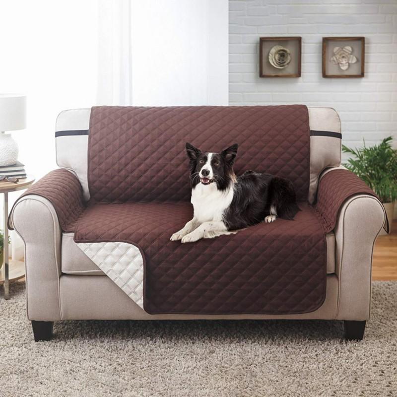 Wondrous Pet Plaid Design Sofa Cushion Waterproof Sofa Cover Cat Protective Pad Washable Anti Slip Sofa Couch Cover Mat Machost Co Dining Chair Design Ideas Machostcouk