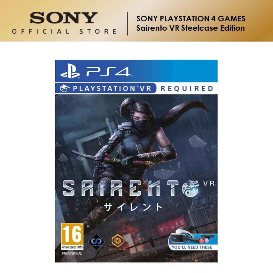 Sony PS4 Games Sairento VR Steelcase Edition