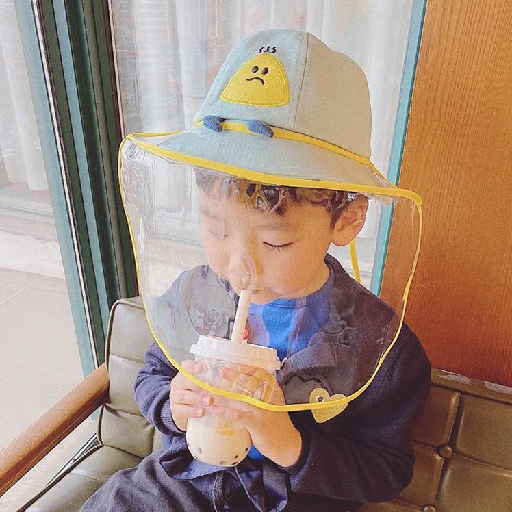 Bucket Hat Kids Autumn Hats for Girls Boys Children Cartoon Bird Baby Fisherman Cap Witch Hat Child Sunshade