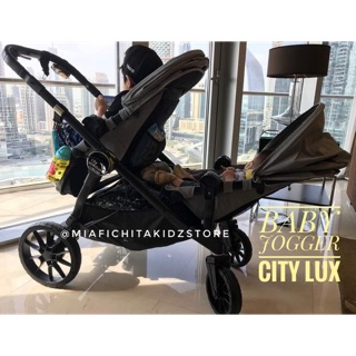 Baby Jogger City Lux Tandem Stroller Shopee Malaysia