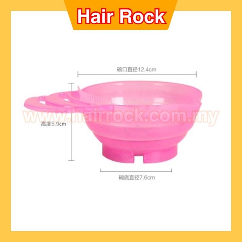 2pcs NEK PRO HAIR COLOURING DYE BOWL (ASSORTED COLOR)(C01/C02)