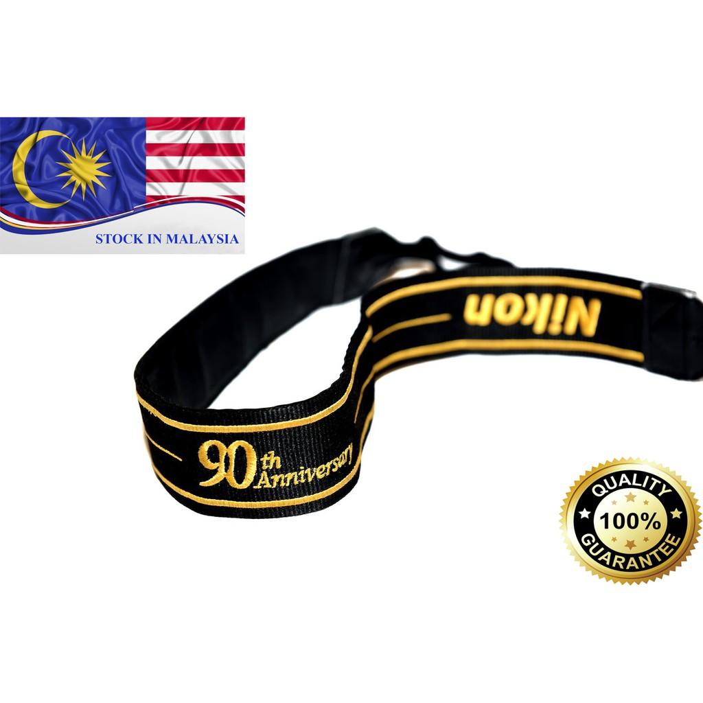 Nikon 90th Anniversary Edition Strap For Nikon DSLR (Ready Stock In Malaysia)