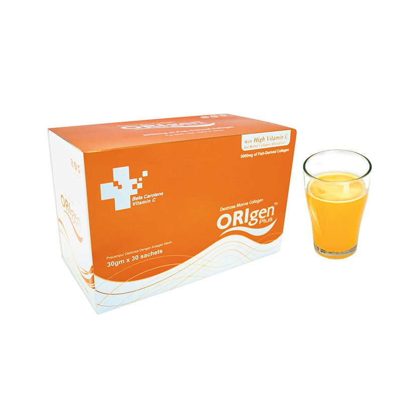 Origen Plus Collagen 5000mg 30g x 30's