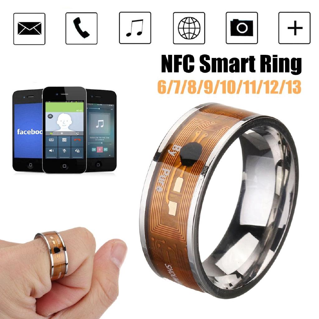 2019 NFC Smart Ring Multifunctional Waterproof Intelligent Wear Digital Ring