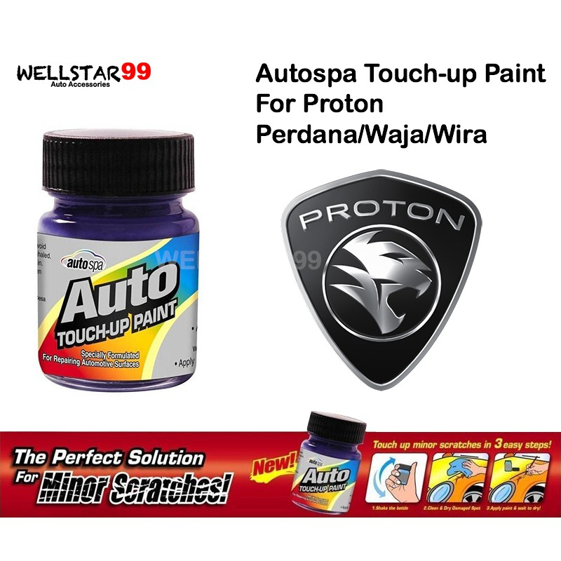 Auto Touch Up Paint >> Autospa Touch Up Paint For Proton Perdana Waja Wira Paint Only 18ml