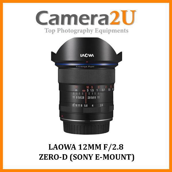 LAOWA 12MM F/2.8 ZERO-D (SONY E-MOUNT)