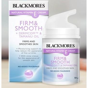 Blackmores Firm & Smooth Natural Vitamin E Cream 50g *READY STOCK*