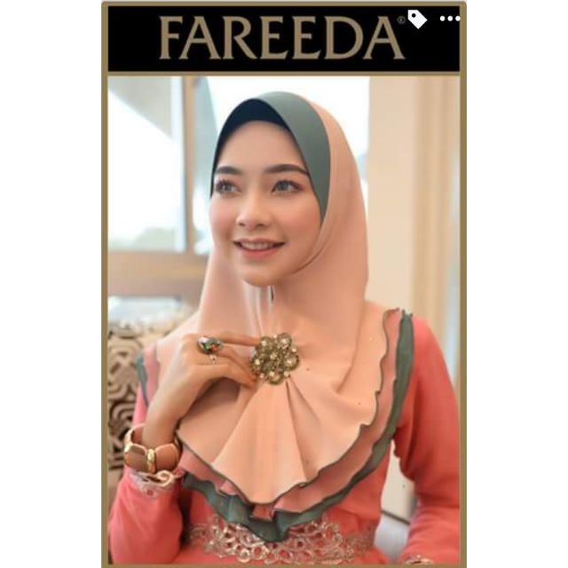 Image result for tudung fareeda