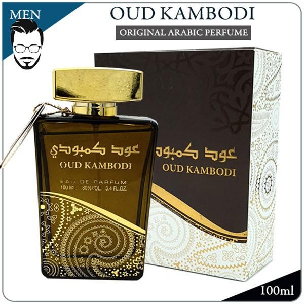 OUD KAMBODI - ORIGINAL ARABIC PERFUME EDP BY SUROORI DUBAI FOR MEN FRAGRANCE READY STOCK