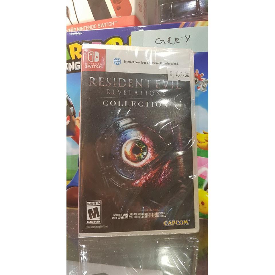 Switch Resident Evil Revelations Collection Shopee Malaysia Revelation English Us Games