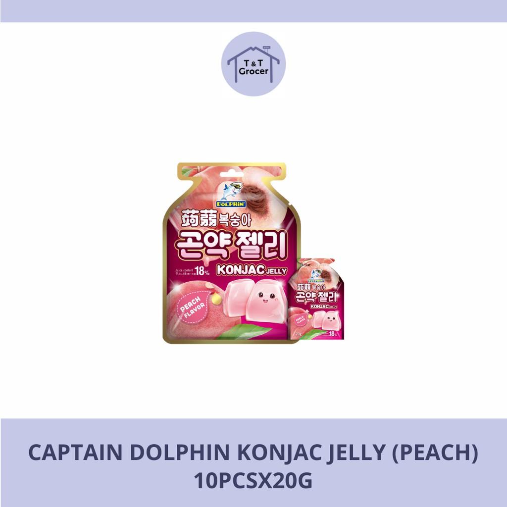 Kapten Dolphin Konjac Jelly/ Kapten Dolphin Konjac Jelly Drink