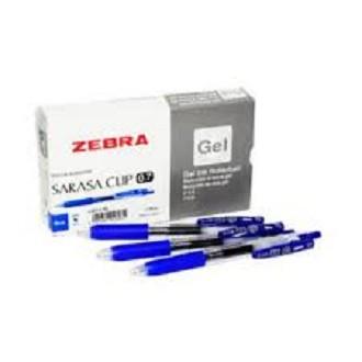 Zebra Sarasa Clip Gel Ink Pen 0.7mm 2pcs/pack