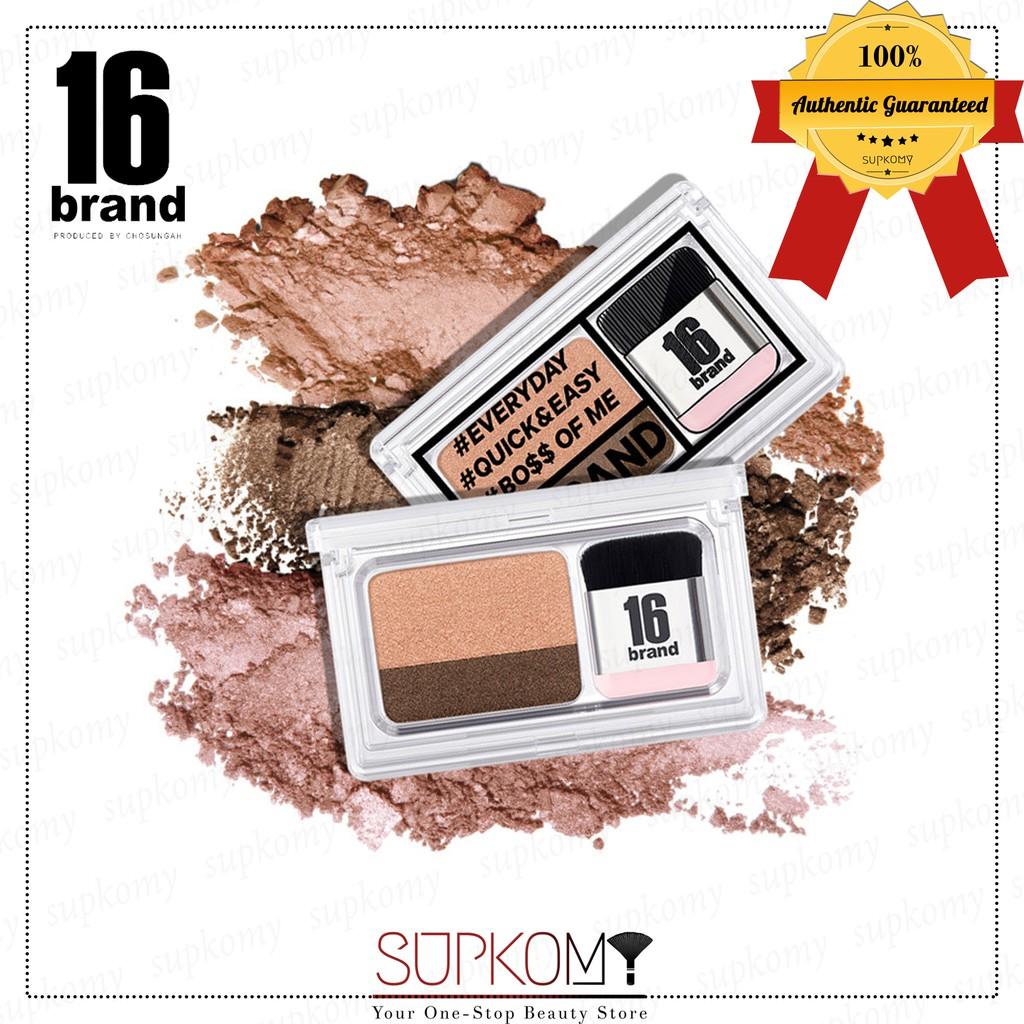 【CLEARANCE】16 Brand Eye Magazine Eyeshadow Sixteen Brand 1 pc
