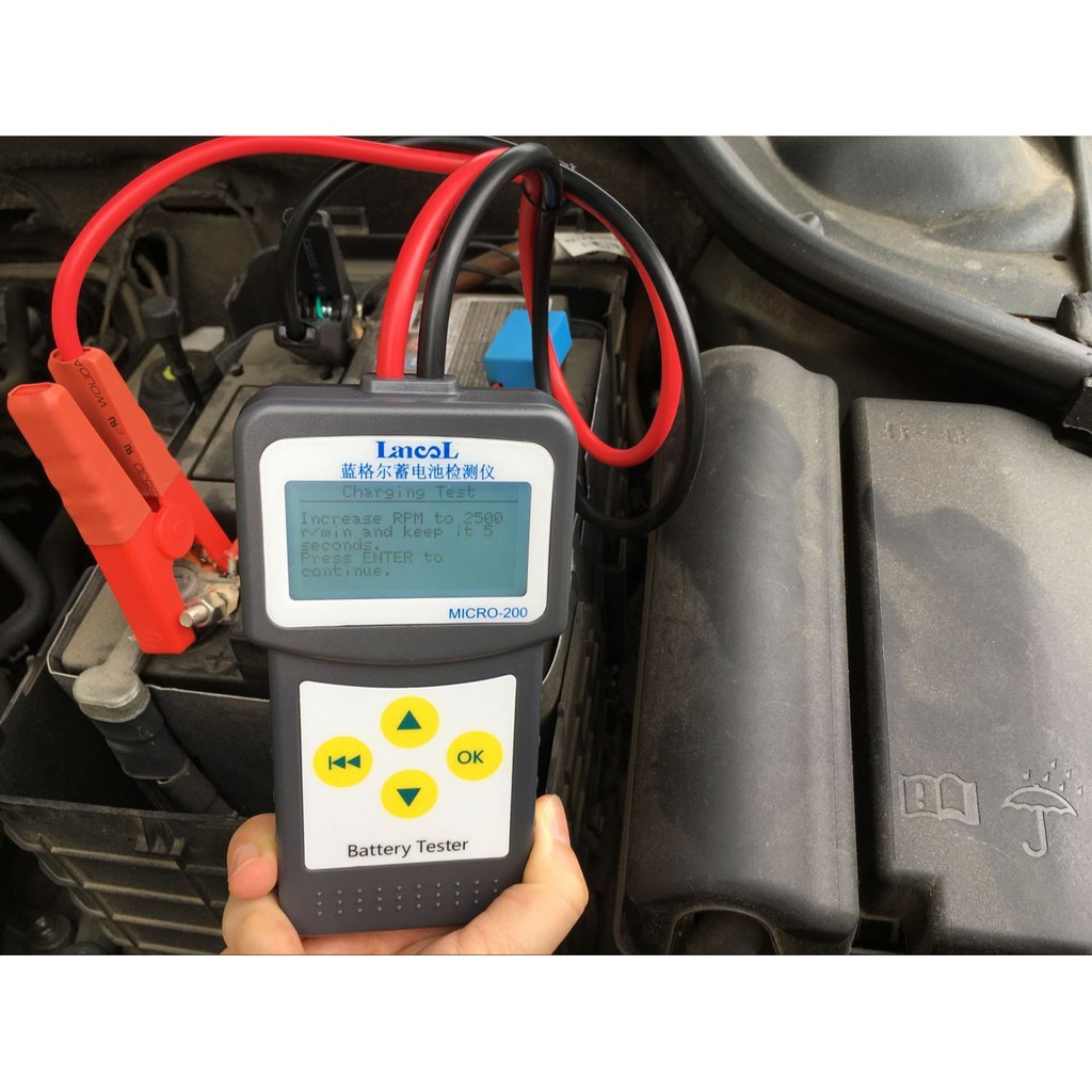 LANCOL Digital Lead acid Battery Load Tester 12V Car Battery