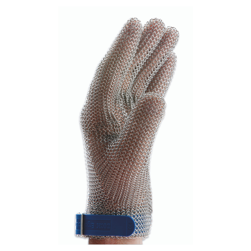 F.Dick, Protective Glove, Stainless Steel Mesh Glove, S, White