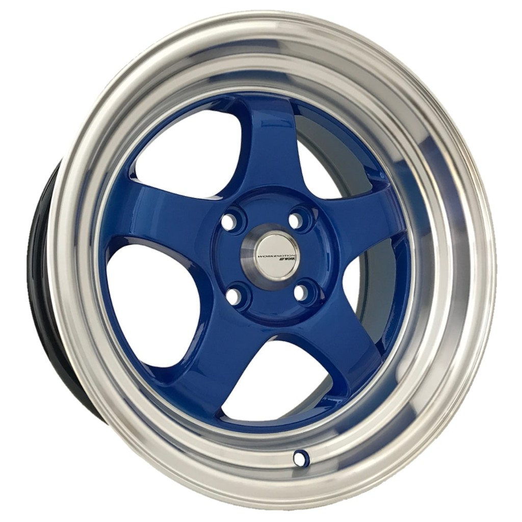Work Emotion S1 15 Inch 7 5jj 4x100 Et28 Car Sport Rims Cheap Wheels Blue Bronze Black Silver Red H526 7 Shopee Malaysia