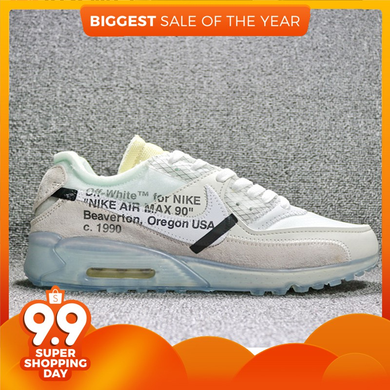 7a0856a58c Air Max 90 X Off-White Limited Joint Sports Running Shoes | Shopee Malaysia