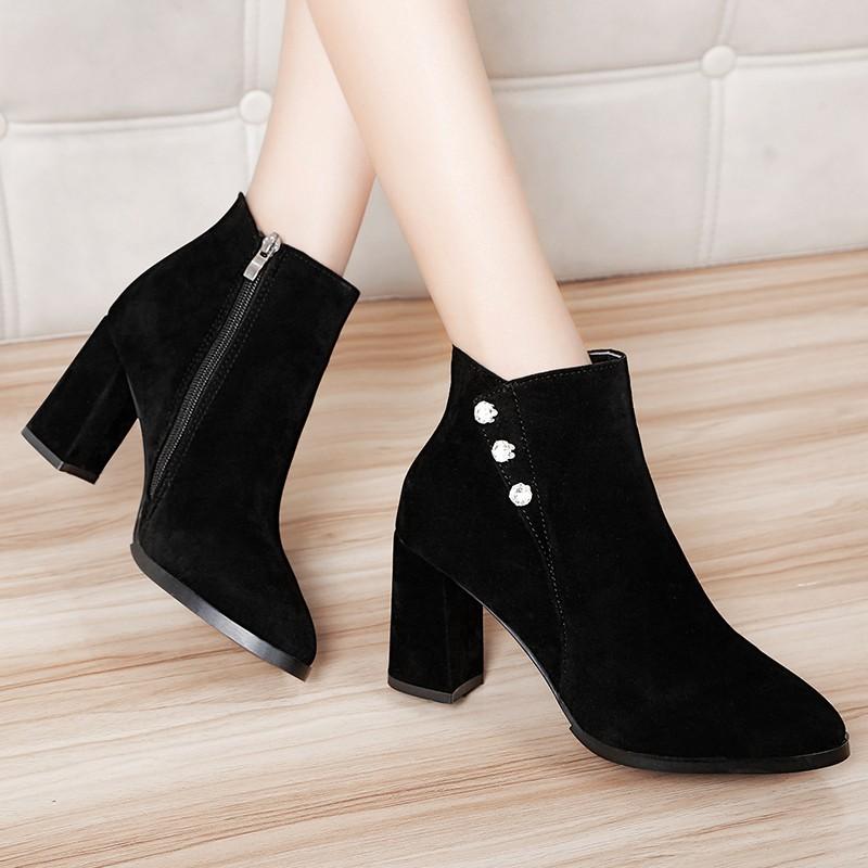 cd11bef0da14 Shop point boot - Heels Sales and Deals Online - Women's Shoes Jun 2019 |  Shopee Malaysia