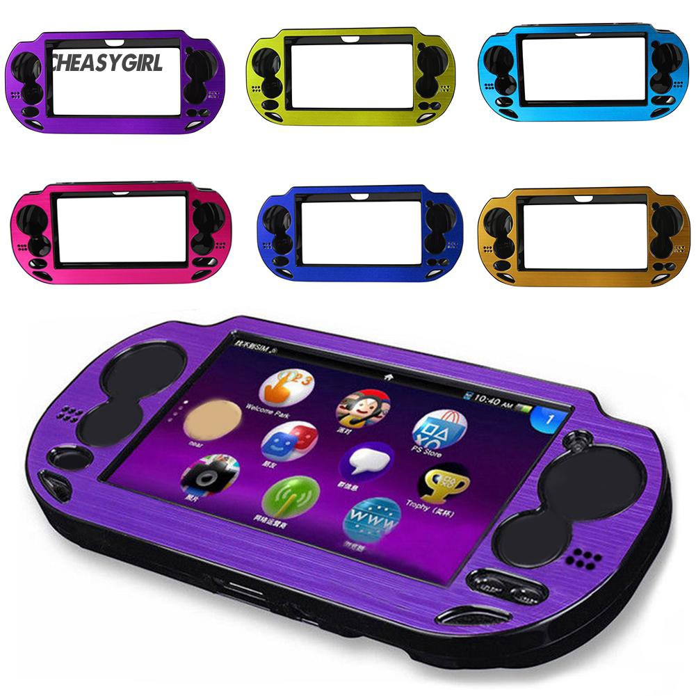 ★CG Replacement Aluminum Protective Cover Case Sony Playstation PS Vita PSV  1000