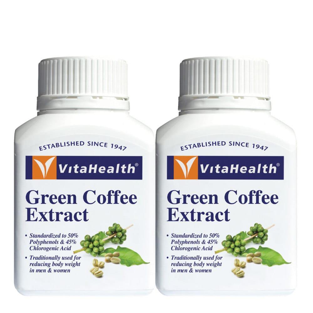 Vita Health Green Coffee Extract Twin Pack 2x60s