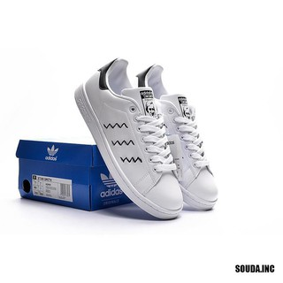 new arrival 941ac 073fa Adidas Stan Smiths Sneaker Men's and Women's Sport shoes White/Black