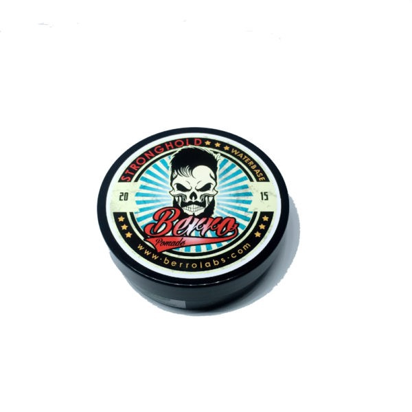 Berro Labs Pomade Strong Hold 50 gram Water-Based Styling Gel Wild Berries Scent