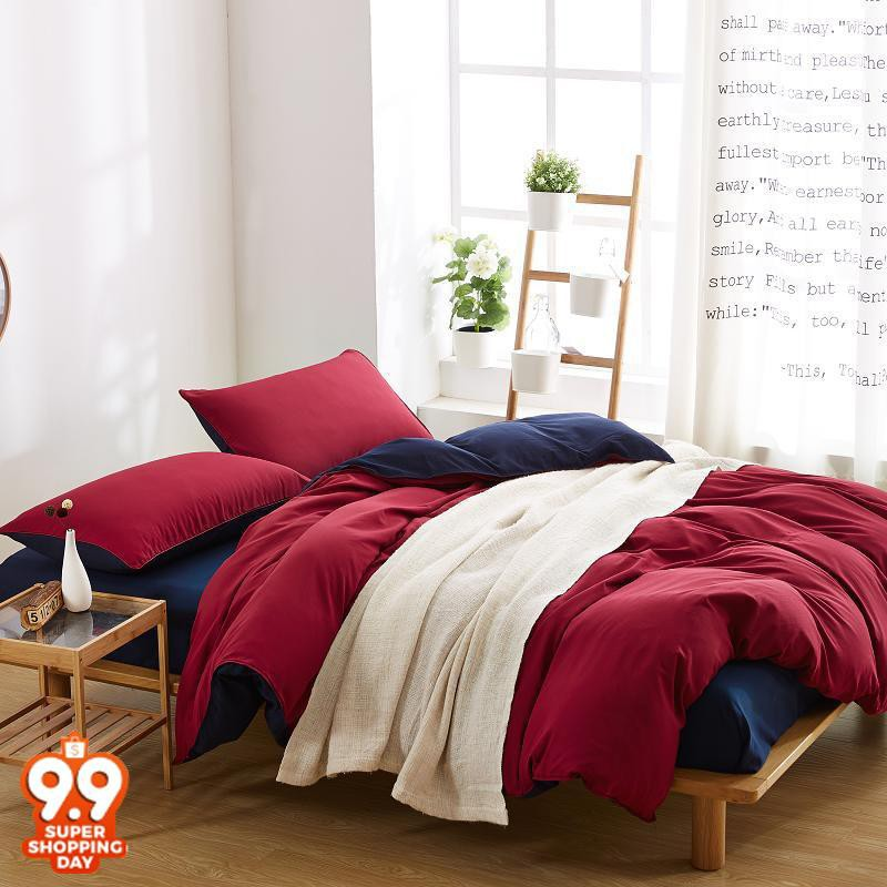 Red Bed   Bedding Online Shopping Sales And Promotions   Home U0026 Living Oct  2018 | Shopee Malaysia