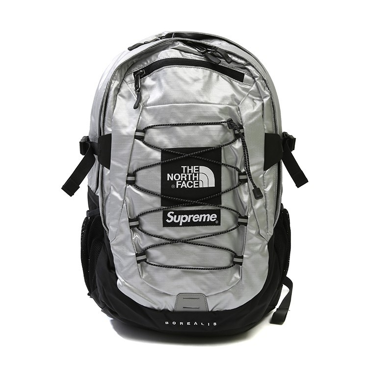 5d6d96f12 Supreme Metallic Backpack Travel Gym Shoulder Bag Rucksack Bag Pack Beg  Galas