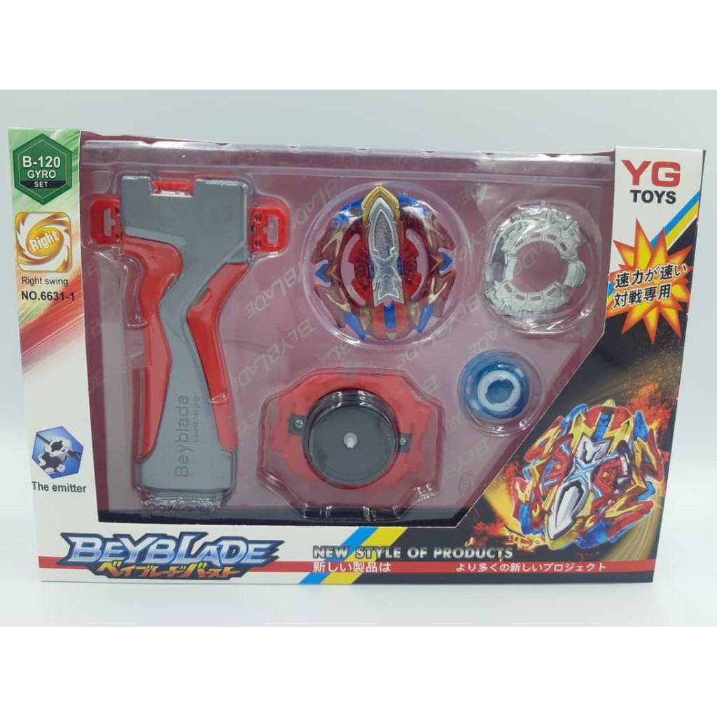New Beyblade Burst Toys Arena  Bayblade Metal Fusion Gasing kanak-kanak,