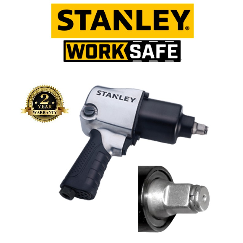 STANLEY STMT993008 1-2 DRIVE IMPACT WRENCH (2 YEAR WARRANTY)