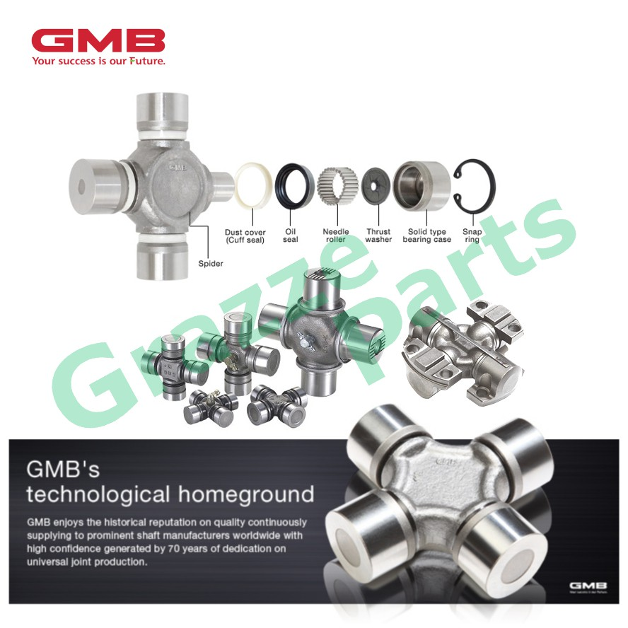 GMB Universal Joint / U-Joint / Coupling GUT-20 for Toyota Land Cruiser HZJ80