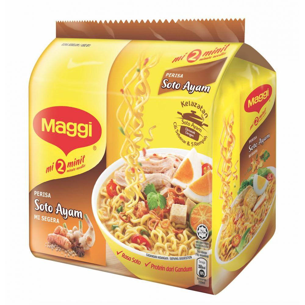 Maggi 2min Perisa Soto Ayam 2(5x79g)