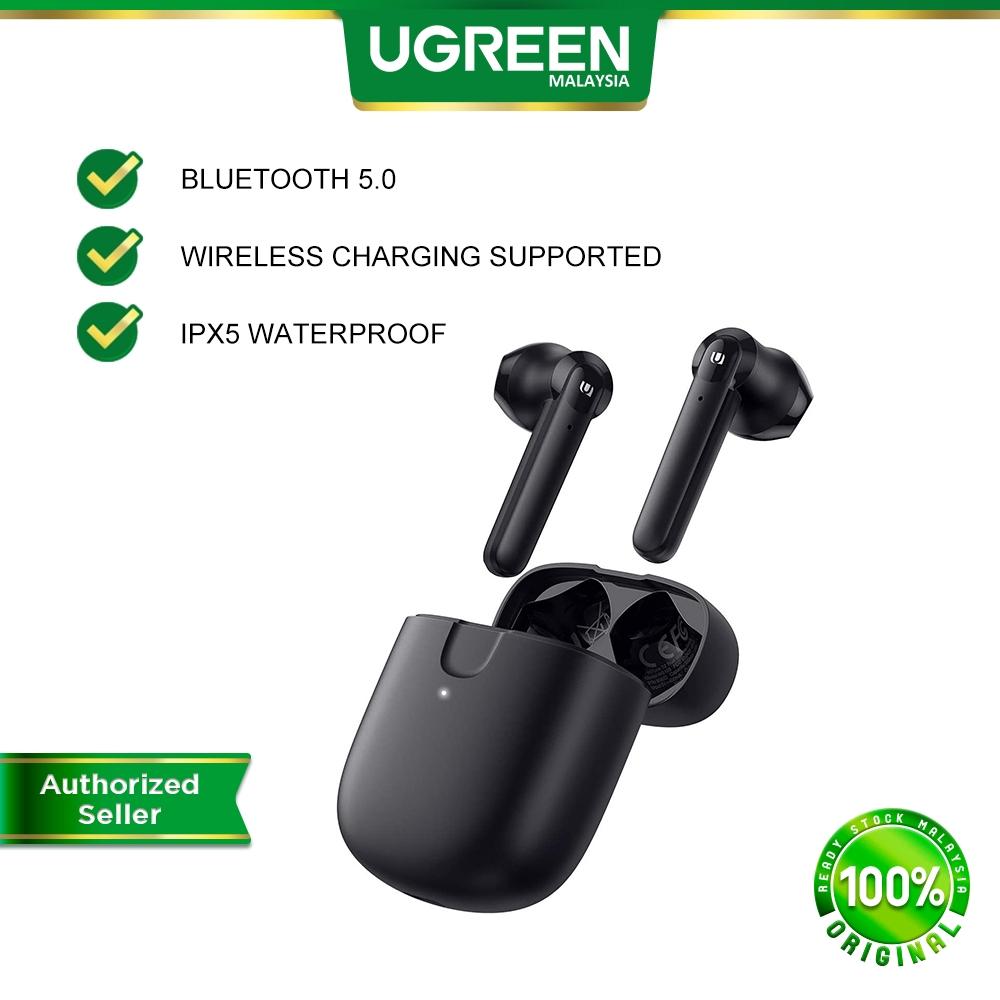 UGREEN HiTune T2 TWS True Wireless Earbuds 60ms Low Latency 3D Sound Waterproof Noise Cancelling Bluetooth Deep Bass