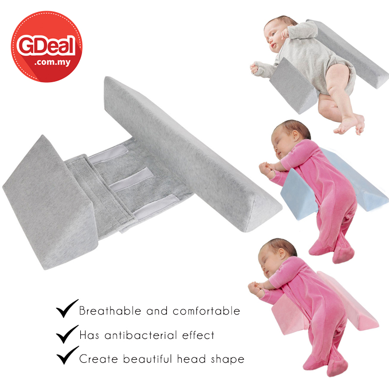 GDeal Infant Side Pillow For Newborn Support Positioning And Correcting Baby Pillow Bantal Bayi