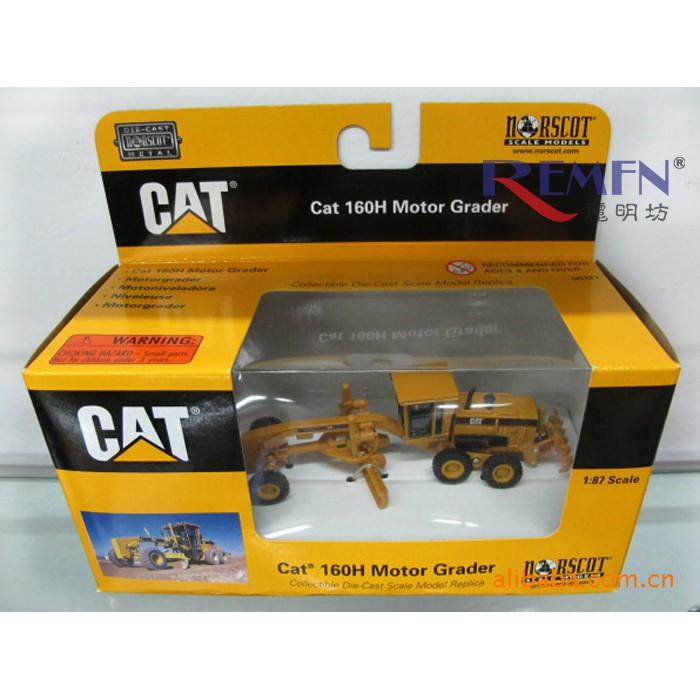 Carter genuine CAT 160H Motor Grader paver engineering machinery alloy car  model