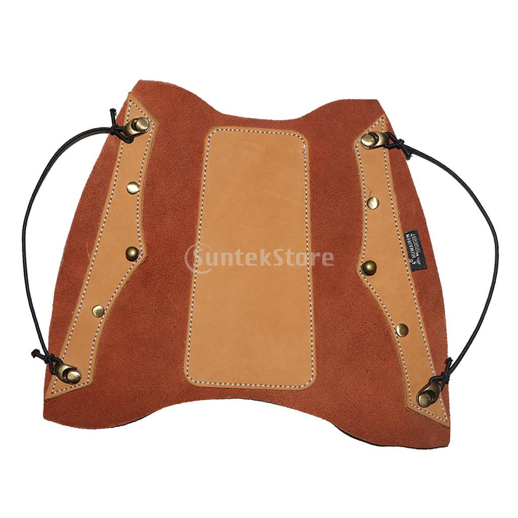 Archery Arm Guard Leather Protector Hunting Target Recurve Bow Safe Accessories