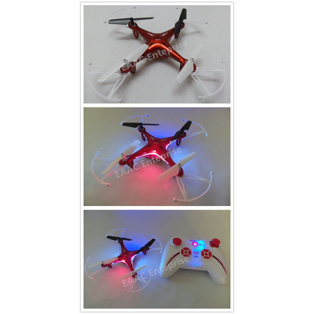 Syma X13 Storm 16cm RC Drone 2.4G Quadcopter Helicopter UFO