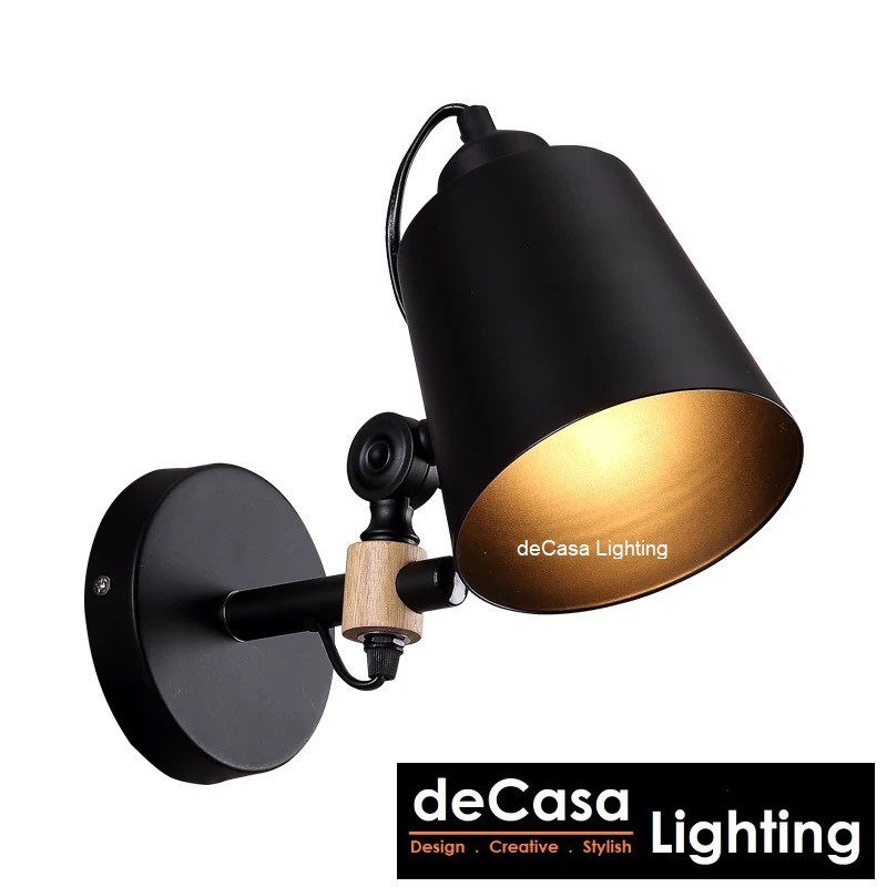 Best Seller Modern Wall Light Adjustable Swing Arm Wall Lights Decasa Lighting Lampu Dinding (OS-2222)