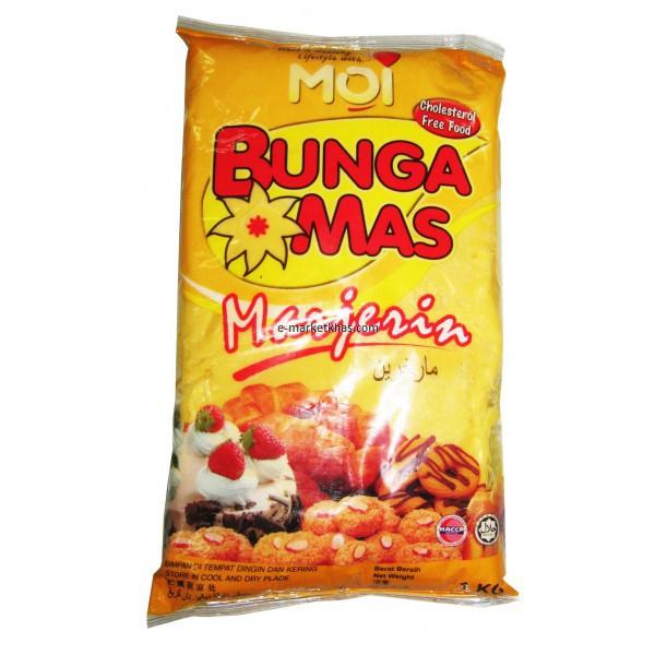Bunga Mas Brand Margarine 1KG 金花牌人造奶油