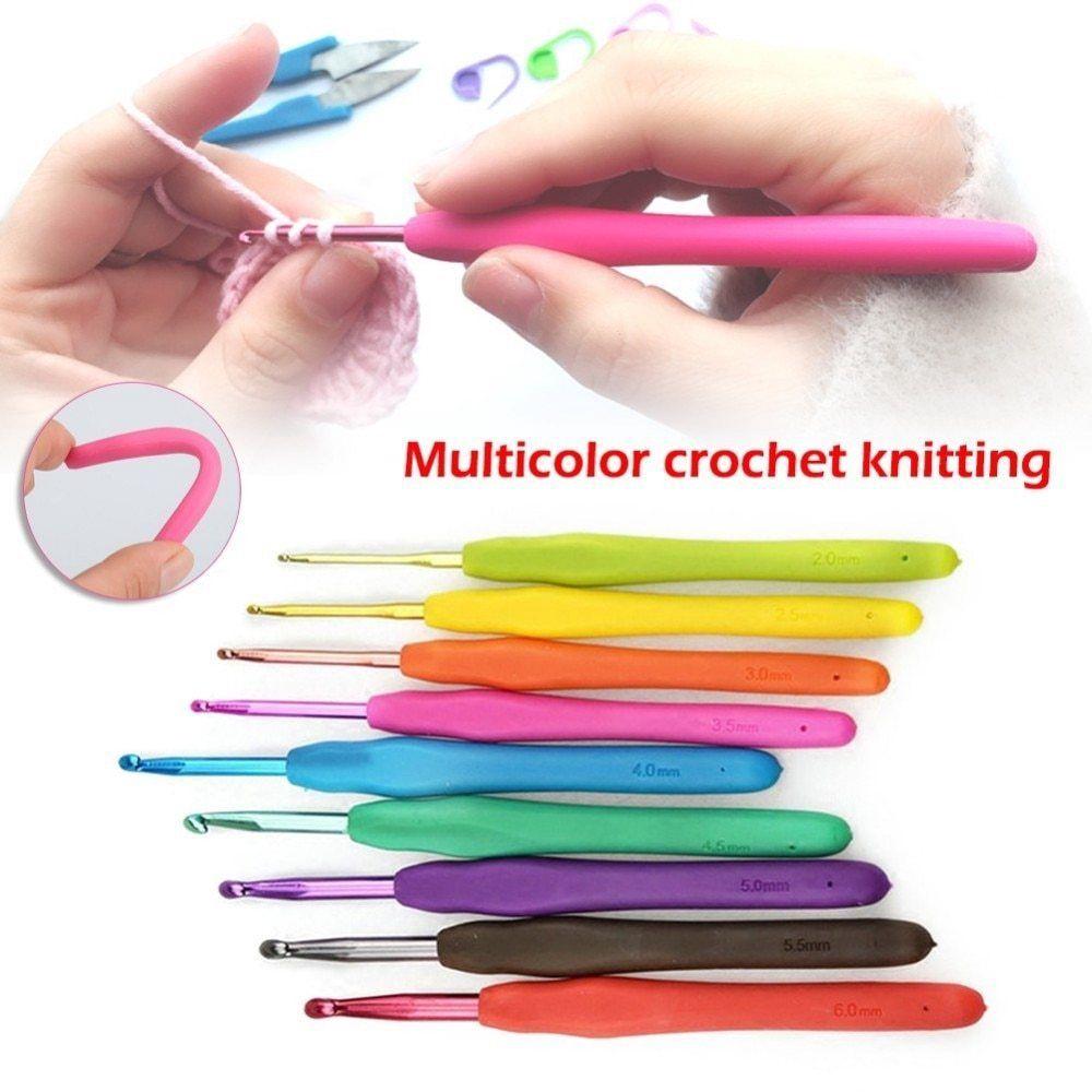 KnitPro Waves Aluminium Soft Grip Crochet Hook