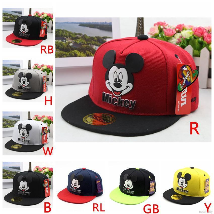 c24fa90977b406 Children Disney Mickey Sun Hat Baby Boys Girls Cap Cartoon Baseball Caps  Hats | Shopee Malaysia