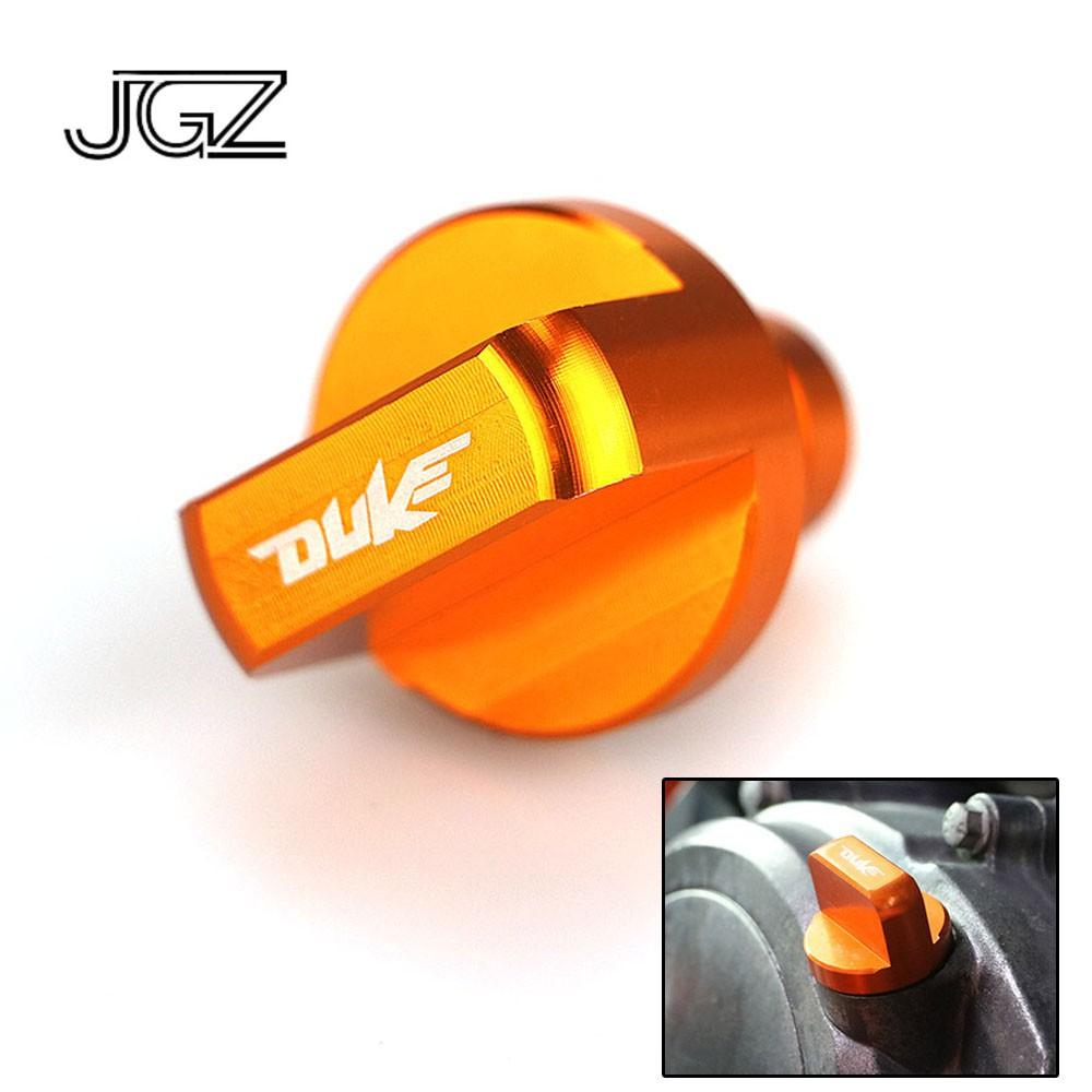 Areyourshop CNC Aluminium Oil Drain Plug Bolt For DUKE 125 200 390